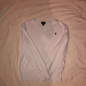 White Polo Cardigan